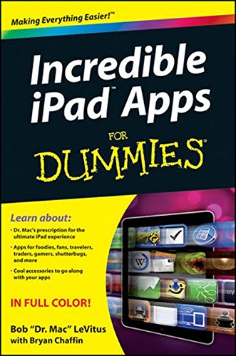 9780470929797: Incredible iPad Apps For Dummies