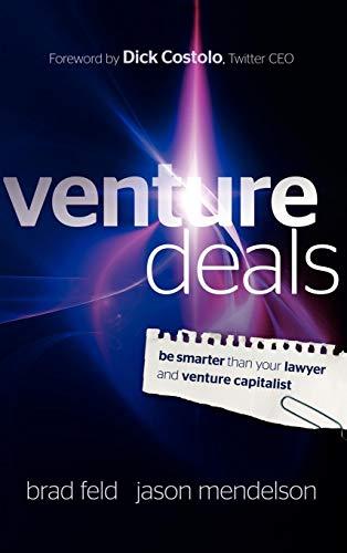 9780470929827: Venture Deals