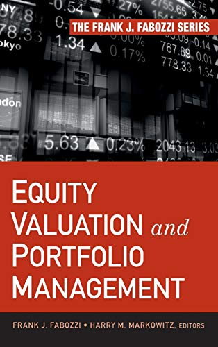 9780470929919: Equity Valuation and Portfolio Management