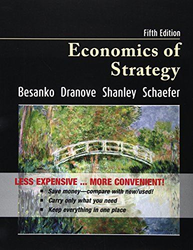9780470930328: Economics of Strategy 5th Edition Binder Ready Version with Binder Ready Survey Flyer Set