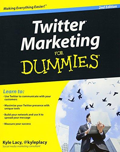 9780470930571: Twitter Marketing For Dummies