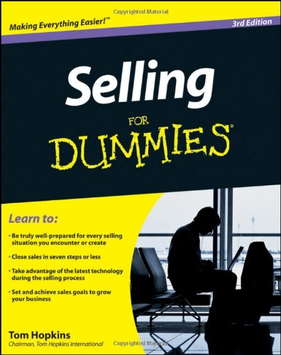 9780470930663: Selling For Dummies