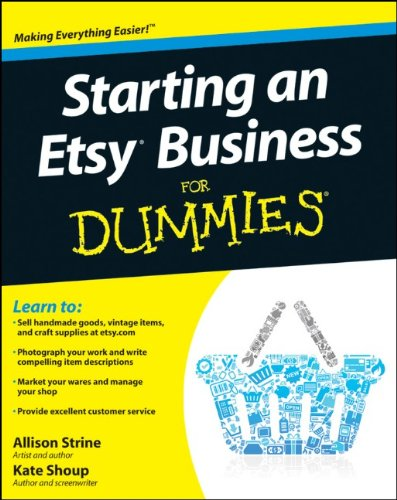 9780470930670: Starting an Etsy Business For Dummies