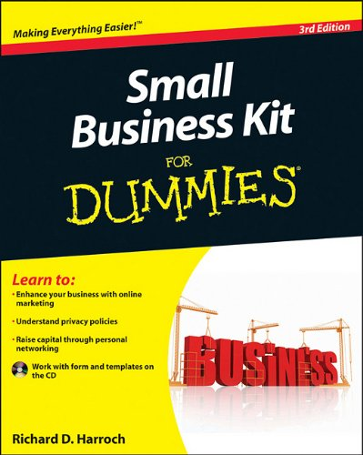9780470930694: Small Business Kit For Dummies
