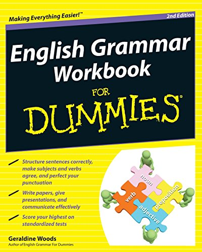 9780470930700: English Grammar Workbook for Dummies