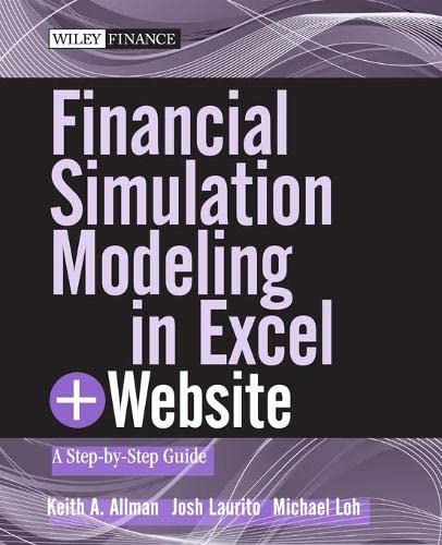 9780470931226: Financial Simulation Modeling in Excel, + Website: A Step-By-Step Guide (Wiley Finance)