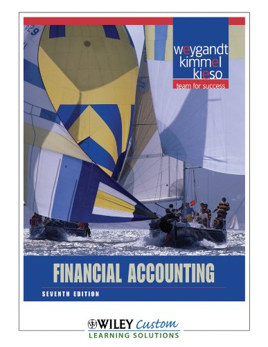 9780470931486: Financial Accounting Seventh Edition Wiley Custom Learning Solutions (Seventh Edition)