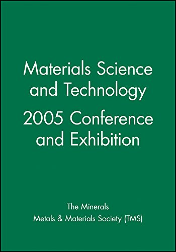 9780470931530: Materials Science and Technology 2005 Conference and Exhibition