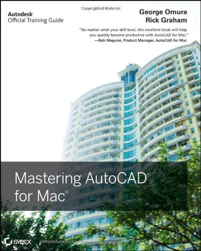 9780470932346: Mastering Autocad for MAC: Autodesk Official Training Guide