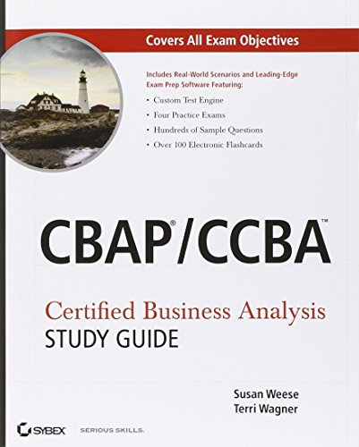 9780470932902: CBAP / CCBA Certified Business Analysis Study Guide