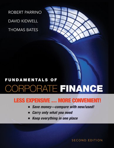 9780470933268: Fundamentals of Corporate Finance