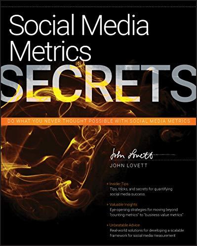 9780470936276: Social Media Metrics Secrets