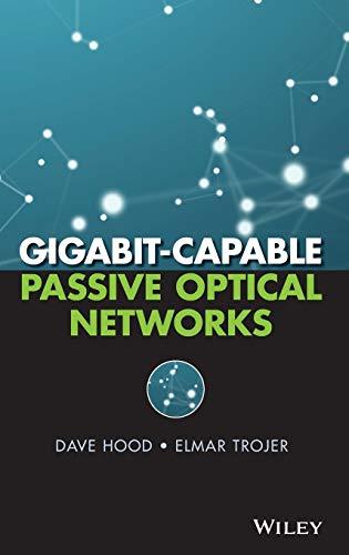 9780470936870: Gigabit-Capable Passive Optical Networks