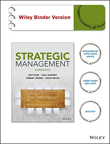 9780470937389: Strategic Management, Binder Ready Version: Concepts and Cases