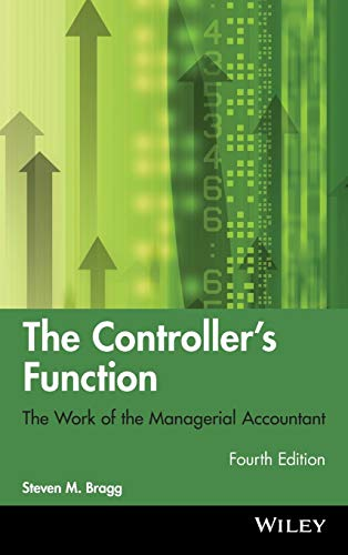 9780470937426: The Controller's Function: The Work of the Managerial Accountant