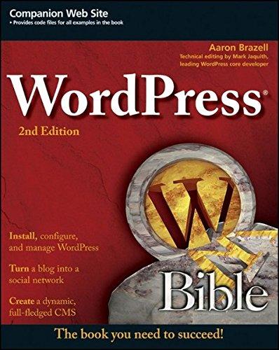 9780470937815: WordPress Bible