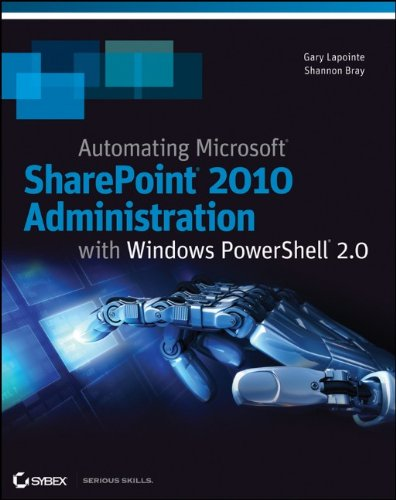 9780470939208: Automating SharePoint 2010 with Windows PowerShell 2.0