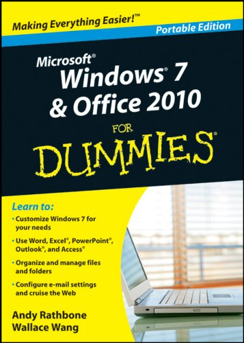 9780470941881: Microsoft Windows 7 & Office 2010 for Dummies Portable Edition