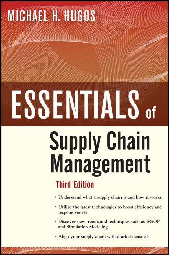 9780470942185: Essentials of Supply Chain Management