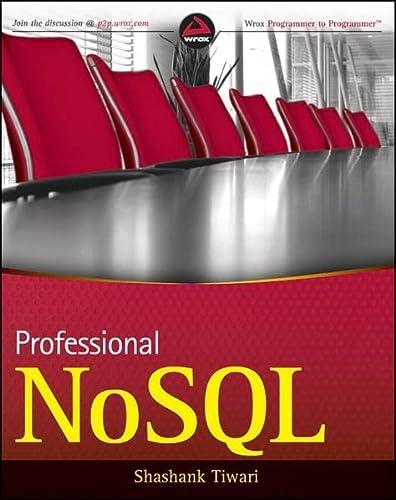 9780470942246: Professional NoSQL
