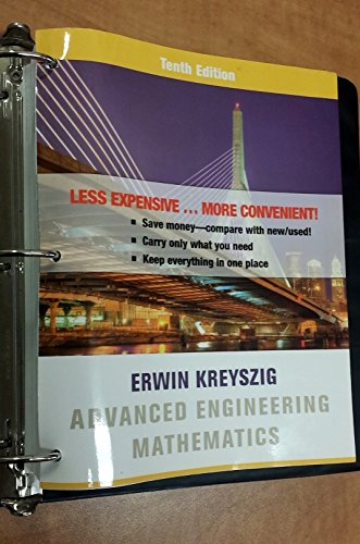 9780470942635: Advanced Engineering Mathematics 10th Edition Binder Ready Version Comp Set