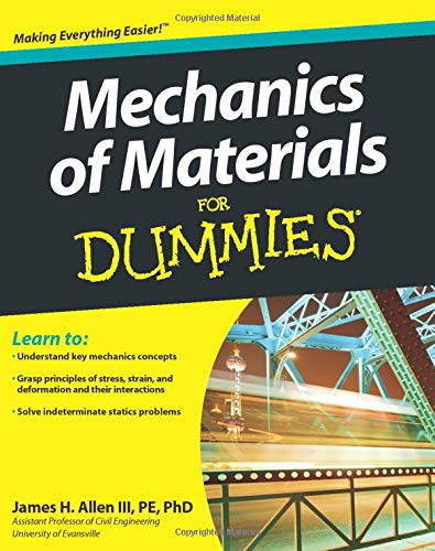 9780470942734: Mechanics of Materials for Dummies