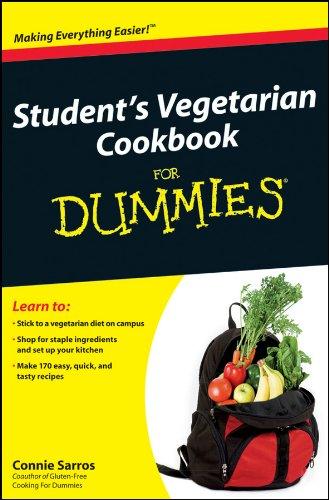 9780470942918: Student's Vegetarian Cookbook for Dummies