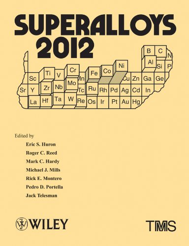 9780470943205: Superalloys 2012: Proceedings of the 12th International Symposium on Superalloys: Held September 9-13, 2012 at Seven Springs Mountain Resort, Seven Springs, Pa