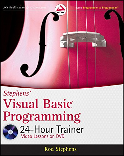 9780470943359: Stephens' Visual Basic Programming 24-Hour Trainer (Wrox Programmer to Programmer)