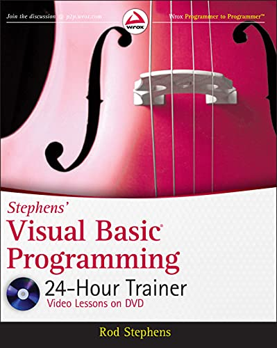 9780470943359: Stephens' Visual Basic Programming 24-Hour Trainer