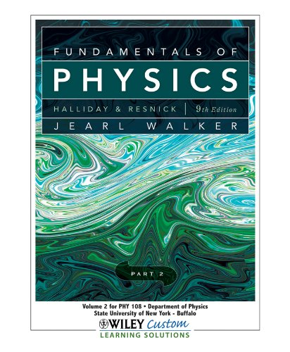 9780470944592: Fundamentals of Physics Volume 2 (State University of New York-Buffalo Custom) (State University of New York-Buffalo Custom Edition)