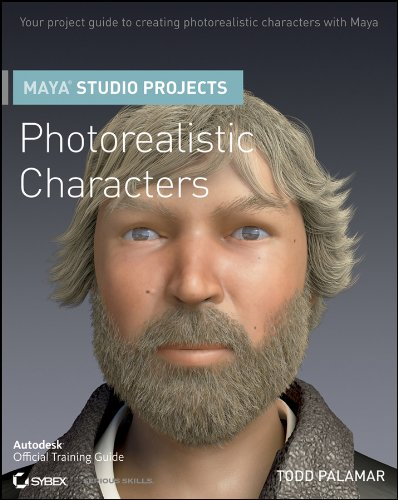 9780470944974: Maya Studio Projects Photorealistic Characters [With DVD ROM] (Autodesk Official Training Guides)
