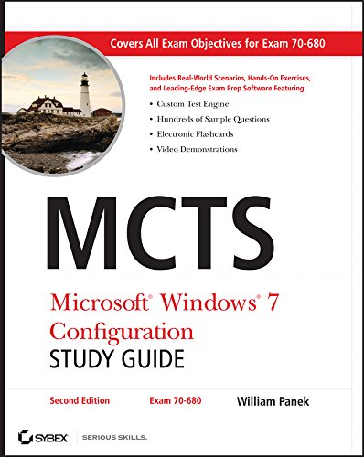 9780470948453: MCTS Microsoft Windows 7 Configuration Study Guide, Study Guide: Exam 70-680