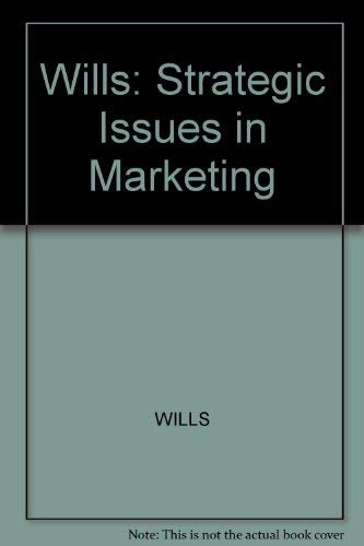 Strategic Issues in Marketing