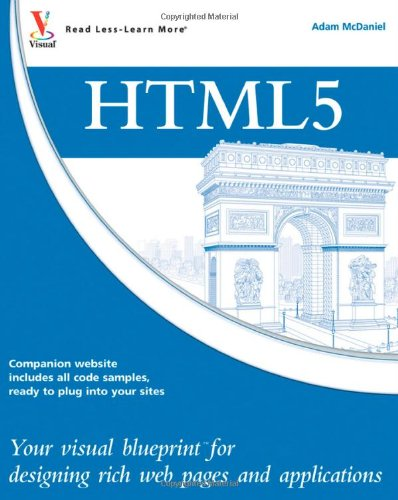 9780470952221: HTML5: Your visual blueprint for designing rich Web pages and applications
