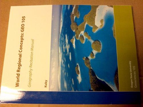 World Regional Concepts: GEO 105: Michael Kuby