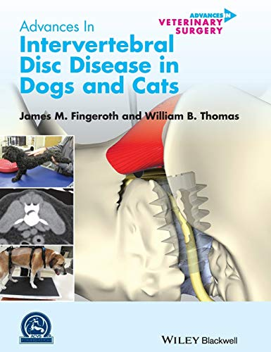 9780470959596: Advances in Intervertebral Disc Disease in Dogs and Cats (AVS Advances in Veterinary Surgery)