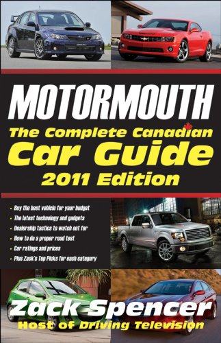 9780470964040: Motormouth: The Complete Canadian Car Guide