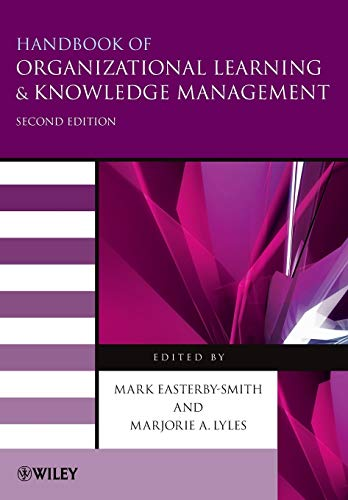 9780470972649: Handbook of Organizational Learning and Knowledge Management