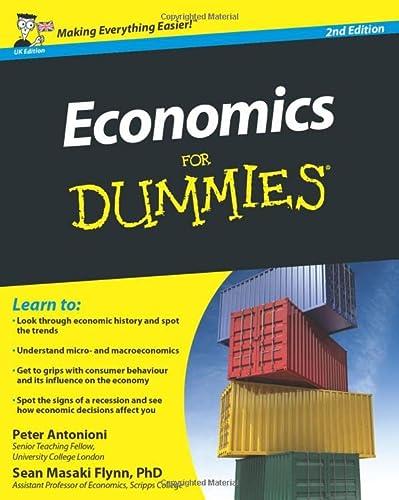 9780470973257: Economics For Dummies, UK Edition