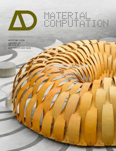 9780470973301: Material Computation: Higher Integration in Morphogenetic Design Architectural Design