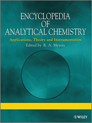 9780470973332: Encyclopedia of Analytical Chemistry: Applications, Theory and Instrumentation: S1-S3