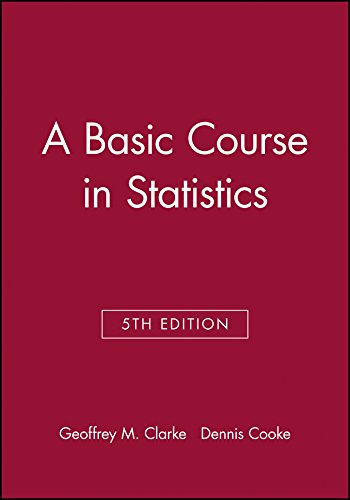 9780470973875: A Basic Course in Statistics