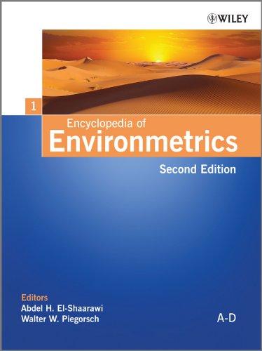 9780470973882: Encyclopedia of Environmetrics