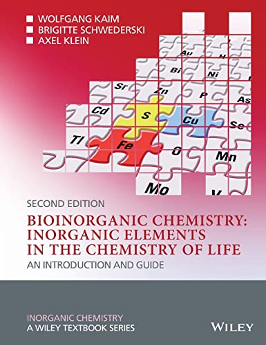 9780470975237: Bioinorganic Chemistry: Inorganic Elements in the Chemistry of Life: An Introduction and Guide