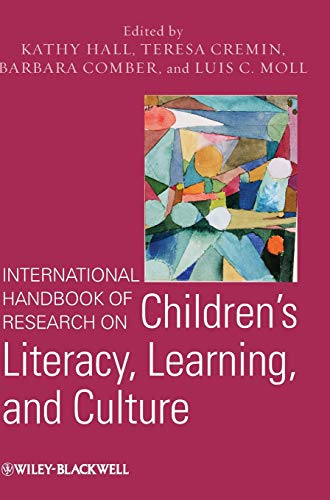 International Handbook of Research on Children's Literacy,: Hall, Kathy; Cremin,