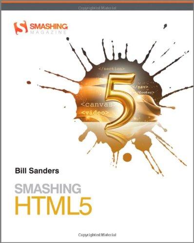9780470977279: Smashing HTML5