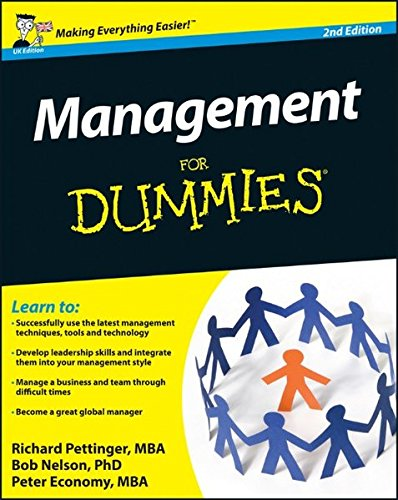 9780470977699: Management For Dummies, 2nd Edition