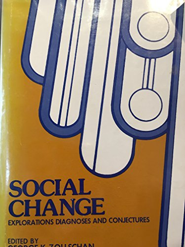 9780470984086: Social Change: Explorations, Diagnoses and Conjectures