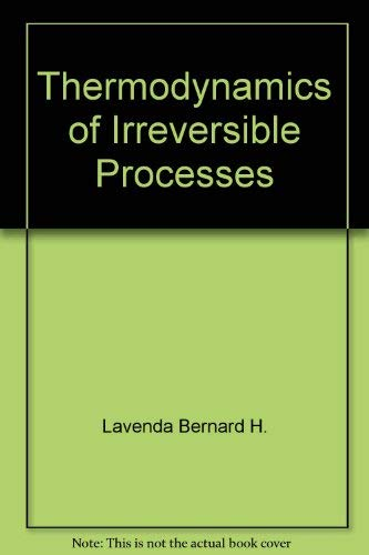 9780470988985: Thermodynamics of Irreversible Processes